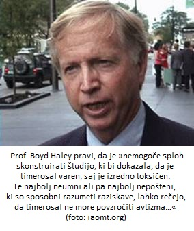 avtizem prof. Boyd Haley
